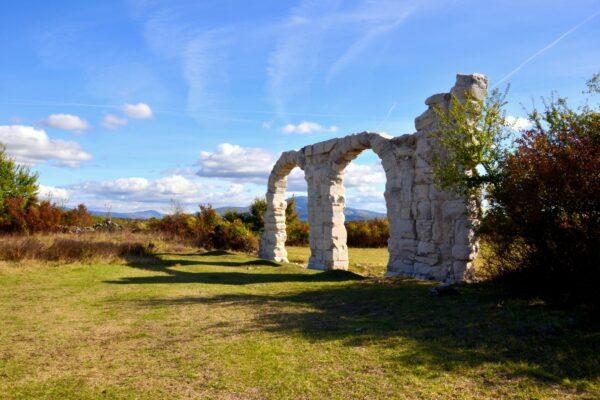 Archs of Burnum, NP Krka, Croatia, photo credit by NP Krka
