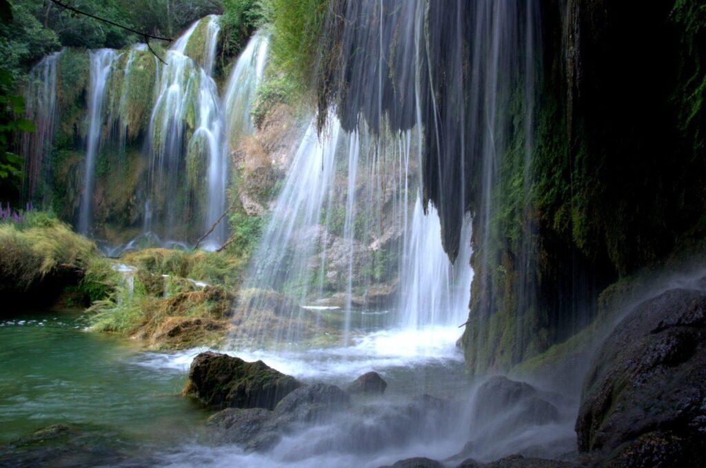 Manojlovac waterfall, Np Krka, Croatia, photo credit by NP Krka