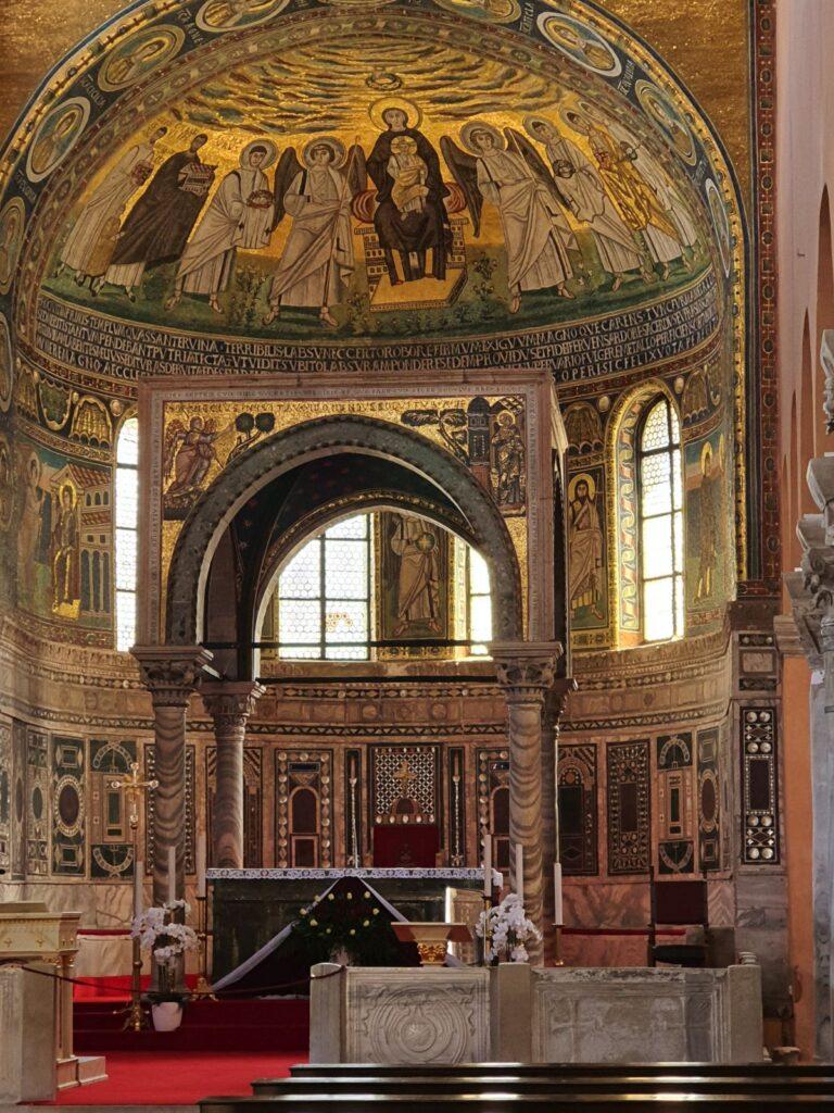 Euphrasian Basilica in Poreč, Istria, Croatia, photo by Croatian Attractions