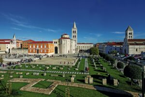 Forum, Zadar, Croatia, photo by Filip Brala, photo credit by TB of Zadar city