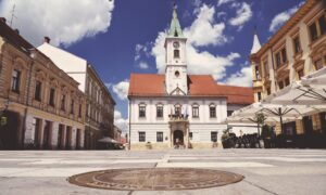 Varazdin, Korzo, Croatia, photo credit by TZGV