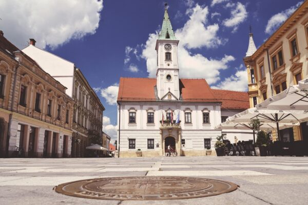 Varazdin, Korzo, Croatia, photo credit by TZGV