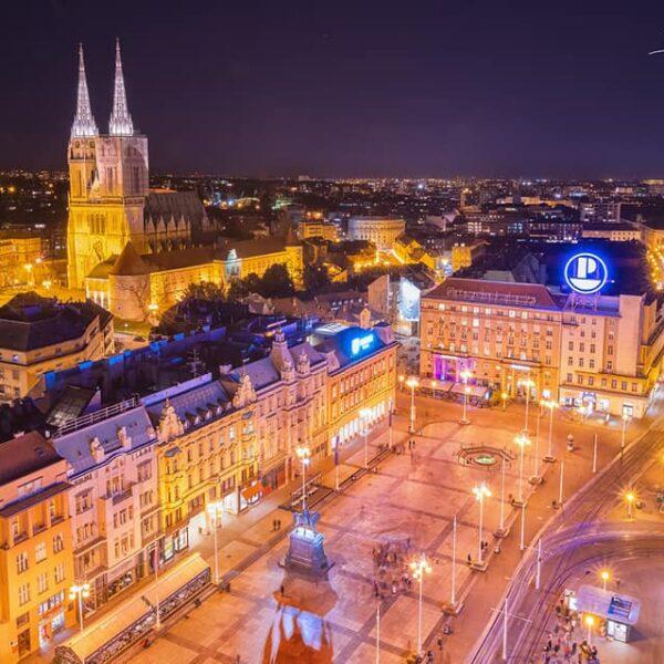 Ban Jelačić Square, Zagreb, Croati9a, Boytronic Photography