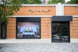 Kingsway and Rimac, showroom in Shanghai, photo credit by Rimac Automobili